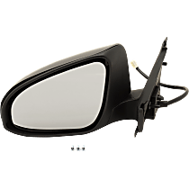Driver Side Heated Mirror - Power Glass,, Paintable