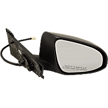 Passenger Side Heated Mirror - Power Glass,, Paintable