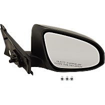 Passenger Side Non-Heated Mirror - Manual Glass,, Paintable