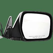 Mirror - Passenger Side, Power Glass, Paintable