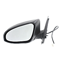 Mirror - Driver Side, Power, Paintable, For Models Built in Japan