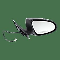 Mirror - Passenger Side, Power, Paintable, For Models Built in Japan