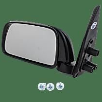 Mirror - Driver Side, Folding, Textured Black