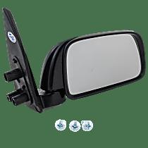 Mirror - Passenger Side, Manual Glass, Textured Black