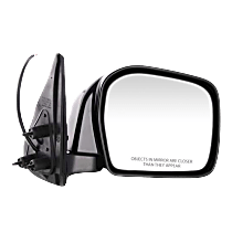 Mirror - Passenger Side, Power, Folding, Paintable, For RWD or 4WD