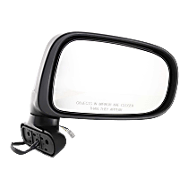 Mirror - Passenger Side, Power, Folding, Textured Black