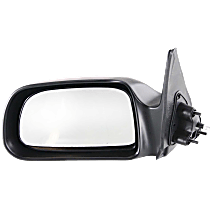 Mirror - Driver Side, Manual Remote, Paintable, For RWD