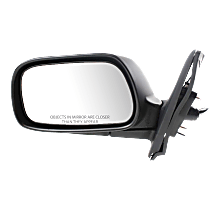 Mirror Manual Folding - Driver Side, Power Glass, In-housing Signal Light, Paintable