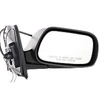 Mirror Manual Folding - Passenger Side, Power Glass, In-housing Signal Light, Paintable
