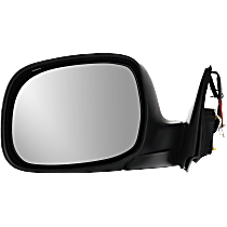 Mirror Non-Heated - Driver Side, Power Glass, Chrome