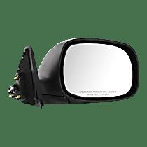 Mirror Non-Heated - Passenger Side, Power Glass, Chrome
