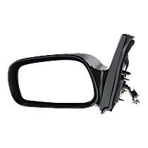 Mirror Non-folding - Driver Side, Power Glass, Non-Heated, Paintable