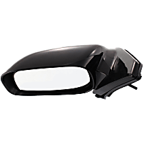 Mirror - Driver Side, Manual Remote, Paintable, For Models With Deluxe Interior