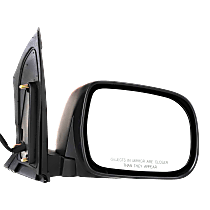 Mirror - Passenger Side, Power, Heated, Textured Black