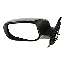 Mirror - Driver Side, Folding, Paintable, For Hatchback