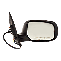 Mirror - Passenger Side, Power, Folding, Paintable, For Sedan