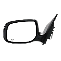 Mirror - Driver Side, Power, Heated, Paintable, For Japan Or US Built Models