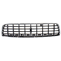 Grille Assembly - Chrome Shell with Painted Black Insert, Except R Models