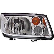 Passenger Side Halogen Headlight, With bulb(s) - From VIN 2108642