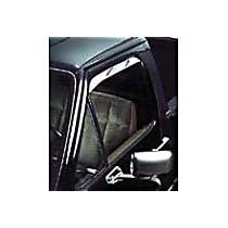 12405 Polished Window Visor, Front, Driver and Passenger Side - Set of 2