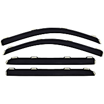 194652 Smoke Window Visor, Front and Rear, Driver and Passenger Side - Set of 4