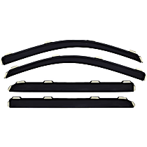 194852 Smoke Window Visor, Front and Rear, Driver and Passenger Side - Set of 4