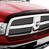 Ventshade Bugflector II Smoke Bug Shield, Automotive Grade Tape Attachment Style