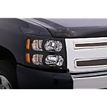 337322 Headlight Cover - Smoke, Acrylic, Direct Fit, Set of 2