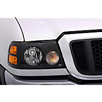 337540 Headlight Cover - Smoke, Acrylic, Direct Fit, Set of 2