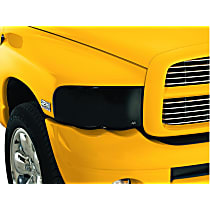 Ventshade 41130 Headlight Cover - Smoke, Acrylic, Direct Fit, Set of 4