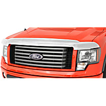 Ventshade Chrome Hood Shield Chrome Bug Shield, Automotive Grade Tape Attachment Style