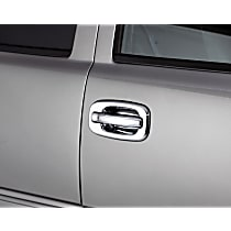 Plastic Plain Door Handle Cover, Chrome