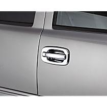 Plastic Plain Door Handle Cover, Chrome