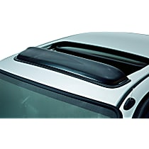 Ventshade Windflector 77001 Universal Smoked Acrylic Roof Air Deflector, Sold individually