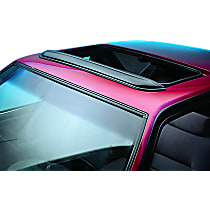 Ventshade Windflector 78060 Universal Smoked Acrylic Roof Air Deflector, Sold individually