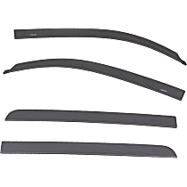 894012-1G3 Paint to Match Window Visor, Front and Rear, Driver and Passenger Side - Set of 4