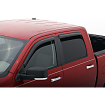 Smoke Window Visor, Front and Rear, Driver and Passenger Side - Set of 4