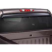 Ventshade Sunflector 93062 Direct Fit Smoked Acrylic Rear Windshield Air Deflector, Sold individually