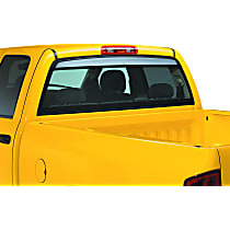 93524 Ventshade Sunflector Direct Fit Smoked Acrylic Rear Windshield Air Deflector, Sold individually