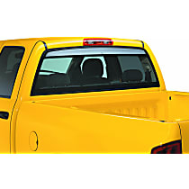 Ventshade Sunflector 93704 Direct Fit Smoked Acrylic Rear Windshield Air Deflector, Sold individually