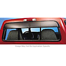 93815 Ventshade Sunflector Direct Fit Smoked Acrylic Rear Windshield Air Deflector, Sold individually