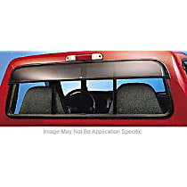 Ventshade Sunflector 93815 Direct Fit Smoked Acrylic Rear Windshield Air Deflector, Sold individually