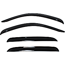 94515 Smoke Window Visor, Front and Rear, Driver and Passenger Side - Set of 4