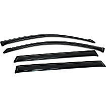 94608 Smoke Window Visor, Front and Rear, Driver and Passenger Side - Set of 4
