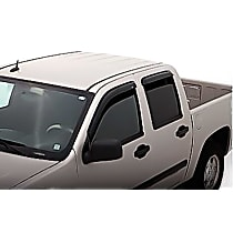 94839 Smoke Window Visor, Front and Rear, Driver and Passenger Side - Set of 4