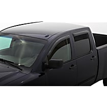 94858 Smoke Window Visor, Front and Rear, Driver and Passenger Side - Set of 4