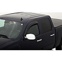95454 Smoke Window Visor, Front, Driver and Passenger Side - Set of 2