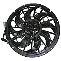 OE Replacement Radiator Fan - USA-built Vehicle, Excludes Shroud