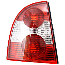 Tail Light - Driver Side, Lens and Housing, Sedan, Except W8 Model