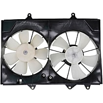 FA70456 OE Replacement Radiator and A/C Condenser Fan